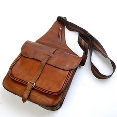 MXS leather bag