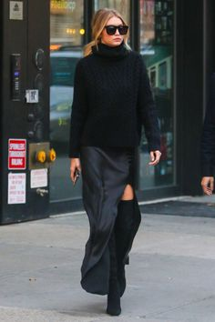 Sexiest fall outfit ever! I <3 Gigi Hadid