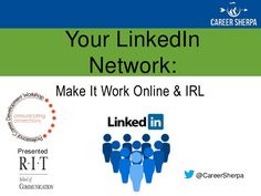 LinkedIn is THE professional social network for job search and career management. It is used by more than 90 percent of recruiters and hiring managers to sourc…