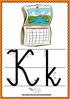 Litera Kk- plansza demonstracyjna FREEEE