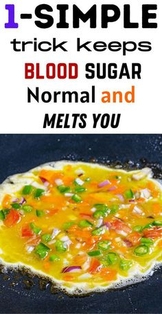 1 simple trick keeps blood sugar normal and melts you Blood Sugar, Diabetes, Curry, Fat, Simple, Ethnic Recipes, Curries