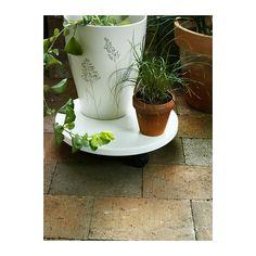LANTLIV Jardinera con ruedas plantas grande  - IKEA