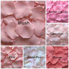 2000 rose vert tissu fleurs//mariage confettiparty//Célébration//Décoration