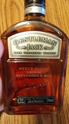 I made some gentlemanly gifts for my groomsmen - Imgur