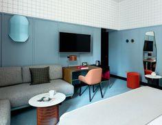Room Mate Hotel Giulia. Designer: Patricia Urquiola