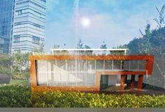 #modern_building #sketch_up #psd #v_ray