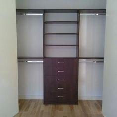 Small Walk In Closet Ideas | Fashionable Master Closet - Closet ...
