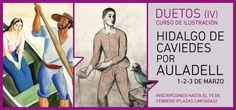 Duetos en el Museo ABC: Hidalgo de Caviedes, visto por Pablo Auladell
