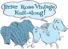 Briar Rose Vintage KAL: Resizing the knitting pattern, Part 1 | By Gum, By Golly