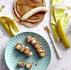 plátanos y panqueuqes
