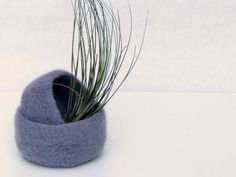 Lilac felted bowl / Two nesting bowls in light by theYarnKitchen, $30.00