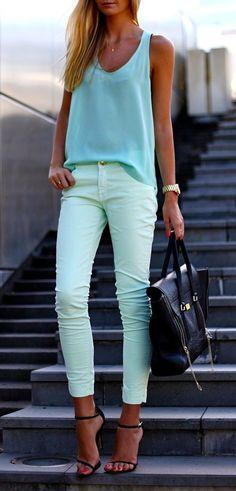 Spring Street Fashion  Via