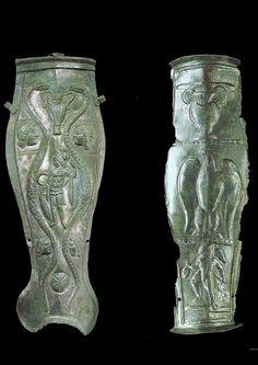 Roman greaves, 1st century A.D.