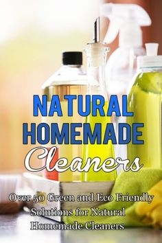 DIY Cleaners, Homemade Cleaners, Natural Cleaning using ingredients that are in your cupboard. Save Money and make your own! Visit The WHOot now!