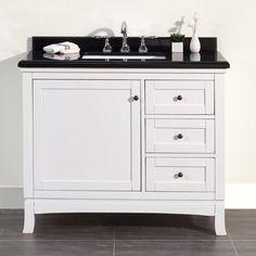 Best Photo Gallery Websites Single Bathroom Vanity SOPHIA VANITY IN WHITE