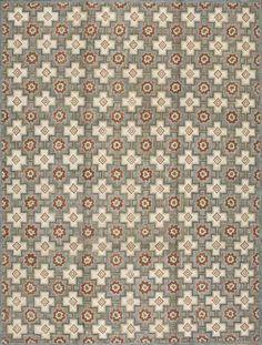 Design #1065B  American Hooked Rug,Custom Size and shape  #TNECNYC #rug #hookedrug