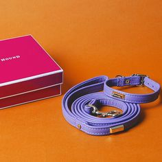 Thank you! @houndcollection  Stoked to receive our leash & collar in purple haze. It looks great on my pup @geronimo_mo #houndcollection . . . . #leathercraft #toronto #purple #haze #collar #leash #dogcollar #puppy #australianshepherd #toyaussie #bluemerle #acolorstory @acolorstory #orange #pink #studio #dog #love #vscocam #handmade #liveauthentic #leather #color #style by marissarocke#dogcollar #lacyandpaws