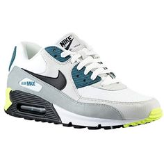 best sneakers 83c05 801f5 Nike Air Max 90 sneakers in White Light Base Grey Base Grey and Black Pine  as seen on Rihanna