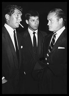 Dean Martin, Jerry Lewis, & Bob Hope -- Jewish -- Old Testament -- One God -- Judeo-Christian Culture Rocks ! from Hollywood all the way to NYC & beyond. Praise G-D