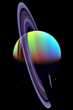 Saturn & Vinus (새턴과비너스) 이름은 지은 특별한 이유. 사주의 궁합의 각각 뜨거운 토성과 금성을 가지고 있음.  Colorful Saturnhttp #NASA #Aerospace #Saturn #Space