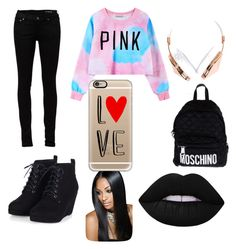 """Awesomeness"" by quinneliana on Polyvore featuring interior, interiors, interior design, home, home decor, interior decorating, Chicnova Fashion, Yves Saint Laurent, Moschino and Casetify"