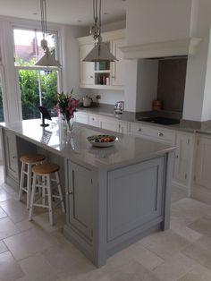 Open Plan Kitchen, Kitchen Redo, Kitchen Living, Country Kitchen, New Kitchen, Kitchen Remodel, Kitchen Hob, Kitchen Island, Tom Howley Kitchens