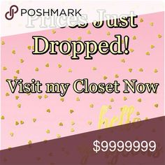 🎉 SALE 🎉 Prices Just Dropped! Check out my Closet 💞💞 Other