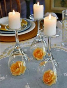 DYI Candle Holder