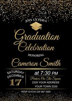 the 25 best invitaciones graduaciones ideas on Graduation Invitation Cards, Graduation Invitations College, College Graduation Parties, Graduation Celebration, 8th Grade Graduation, Graduation Decorations, As You Like, Etsy, White Gold