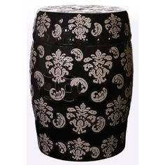 Inspired by traditional Chinese decor, our hand-glazed ceramic garden stool doubles as a distinctive side table. ceramic garden stools are beautiful and multi-functional. Use as a decorative accent ind