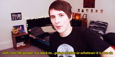 dan howell gifs | gif * YouTube danisnotonfire dan howell Danosaur genieshatelamps ...