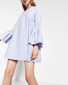 ZARA - WOMAN - POPLIN JUMPSUIT DRESS