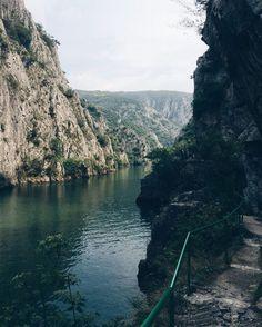 Canyon Matka in Skopje, Macedonia