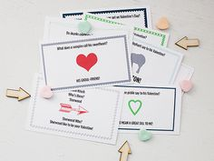 All for the Boys - All for the Boys - Valentine Printable Joke Notes!