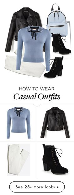 """""""Casual Style"""" by rbfashionplace on Polyvore featuring Post-It, French Connection and Journee Collection"""