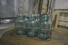 Before: Vintage Canning Jars and Rack Who doesn't love a good Mason jar? And a whole set is pretty hard to come by. Is there actually a way ...