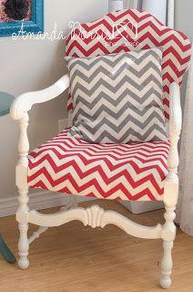 Chevron Chair