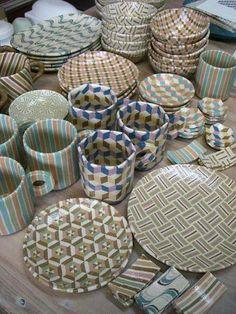 irodori窯~pattern pottery~ : アースガーデン秋@代々木クラフトフェアに参加します!