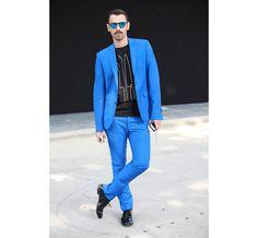 Street Looks à la Fashion Week homme printemps-été 2014 de Milan, Jour 1 http://www.vogue.fr/vogue-hommes/mode/diaporama/street-looks-a-la-fashion-week-homme-printemps-ete-2014-de-milan-jour-1/14017/image/779145#!16