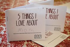 Fun idea for any gathering - mother/father's day, thanksgiving, Christmas, or bday parties!