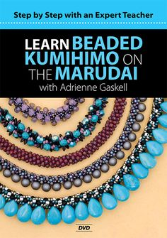 Learn Beaded Kumihimo on the Marudai - on DVD!