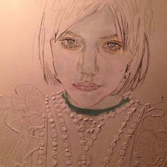 Work in progress  SOKO SOKO SOKO 😻 @sokothecat 🌟#visions #mydreamsdictatemyreality #soko #painting #paint #art #watercolor #drawing #draw #portrait #acrylic #retrato #dibujo #sokothecat #ladycat #musa #StéphanieSokolinski #chanteuse #punk #StéphanieAlexandraMinaSokolinski #folk #voguemagazine #vogue #frenchmusician #actresssoko #videoart #workinprogress #illustration #ilustracion #details