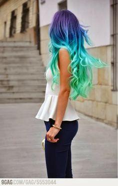 Colorfull hair http://elenasbeautyblog.blogspot.nl/2014/01/15x-colorfull-hair.html