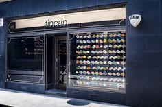 tincan, un proyecto de restaurante efímero en el Soho londinense, sirve durante seis meses el mejor pescado y marisco enlatado del mundo