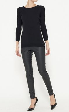Theory Black Top - Click for More...
