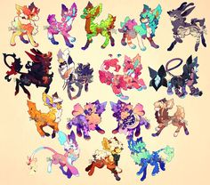 {Customs} - Lots and lots! by PhloxeButt on DeviantArt