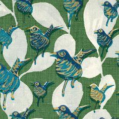lulu dk fabric: Dancers in green