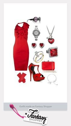 Valentine's romantic dinner outfit