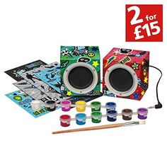 Buy Chad Valley Cool Dude Create Your Own Speakers at Argos.co.uk - Your Online Shop for Toys under 10 pounds, Arts, crafts and creative toys, 2 for 15 pounds on Toys. MEL