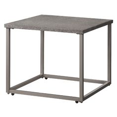 Threshold™ Heatherstone Metal Patio Side Table